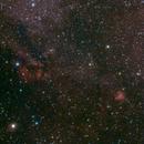 Gum Nebulae 23 & 35,                                Mark Sansom