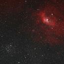 NGC7635 Bubble Nebula in HSS,                                Jeff Kraehnke