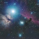 Flame and Horse Head Nebula,                                Missinglink