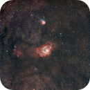 Trifid and Lagoon,                                Christoph Wetter