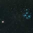 Pleiades and Mars,                                dzambon