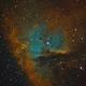 NGC 281 - Sii Ha Oiii,                                HomerPepsi