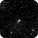 Comet PanSTARRS and the Double Cluster - 22 Jan 2020 - 1706mm,                                MJF_Memorial_Observatory