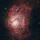 Lagoon Nebula M8 HOO,                                Todd