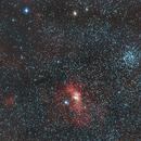 Bubble Nebula,                                Daniel Hightower