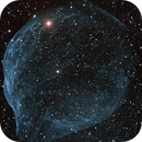 Sharpless2-308 in HaOIII Mosaic,                                Frank Zoltowski
