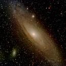 Andromeda Galaxy,                                Steve Cross