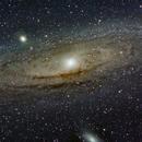 M31 Andromeda,                                Justin Daniel