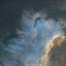 NGC7000 North America Nebula The Wall,                                Georges ATTARD