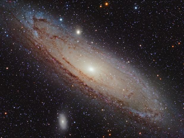 The Andromeda Galaxy (M31),                                Sinan Arkin