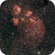 NGC6334 The Cat's Paw Nebula,                                Tim Anderson
