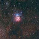 (2012) M 20 (Trifid nebula),                                Giuseppe Marino