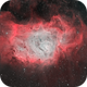 Messier 8 - Lagoon Nebula Bi-Color,                                regis83