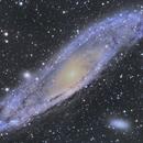 M31 Andromeda Galaxy,                                Eirik Kittelsen