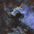 NGC7000 SHO - 61EDPH,                                Le Mouellic Guill...