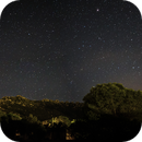 Milky Way on Mountains,                                Samuele Pinna