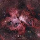 Carinae Nebula,                                Michael Leung