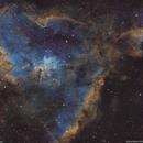 IC1805 hearth nebula, IC1795, Melotte 15 SHO,                                lukfer