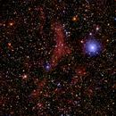 Sh2 172 and Sh2 177 H-Alpha RGB,                                jerryyyyy