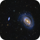 NGC 4725,                                Dustin and Georgia Williams