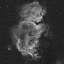 IC 1848 - Soul Nebula Ha,                                Mariusz Golebiewski