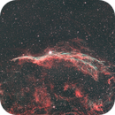 3.5 hours on the Western Veil Nebula from the city,                                Antoine Grelin