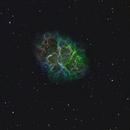 Messier 1 - Crab Nebula - SHO,                                Anis Abdul