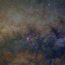 Milky Way star fields,                                Dean Fournier