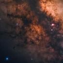 Fierce Dust Clouds in Milky Way,                                Min Xie