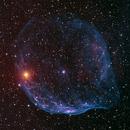 Sh2-308 SH2-303 Dolphine Nebula - RGBHaOiii,                                Jerry Macon
