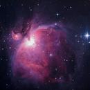 Nébuleuse d'orion M42 Orion Nebula,                                Victor