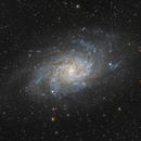 M33 Galaxie du Triangle,                                Stephane Jung