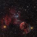 Between IC 443 and M 35 (Version 2021),                                Jenafan