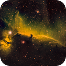 """Horsehead and Flame SHO """"Hubble Palette"""",                                Tristram"""