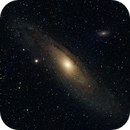 M31 with full moon,                                Paolo Manicardi