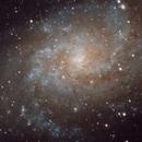 M33, the Triangulum Galaxy (close up),                                Kevin Wigell