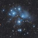 M45 - Pleiades,                                Victor Van Puyenb...