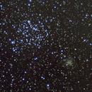 M35 and NGC 2158,                                Victor Land