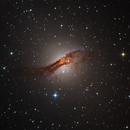 Centaurus A from Telescope Live,                                Mauricio Christiano de Souza