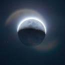 HDR Moon (4 Frames),                                schmaks