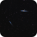 Whale and Hockey Stick Galaxies ,                                Davide Coverta
