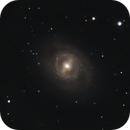 M95 under full moon,                                Riedl Rudolf
