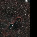 Elephant trunk nebula,                                Nikolaos Karamitsos