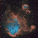 IC 2944 - Running Chicken Nebula,                                Daniel and Iana Egan