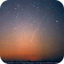 C/2004 F4 (Bradfield) below M31 galaxy,                                Pawel Turek