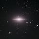 Messier-104 the Sombrero Galaxy,                                Seymore Stars