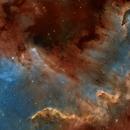 NGC7000 SHO,                                litobrit