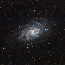 Maintenant la galaxie du Triangle (M33) Get
