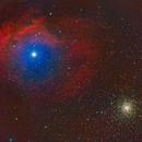 Sharpless 2-9 and Messier 4,                                Jim Matzger