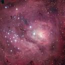 Very brief LRGB M8,                                Ben